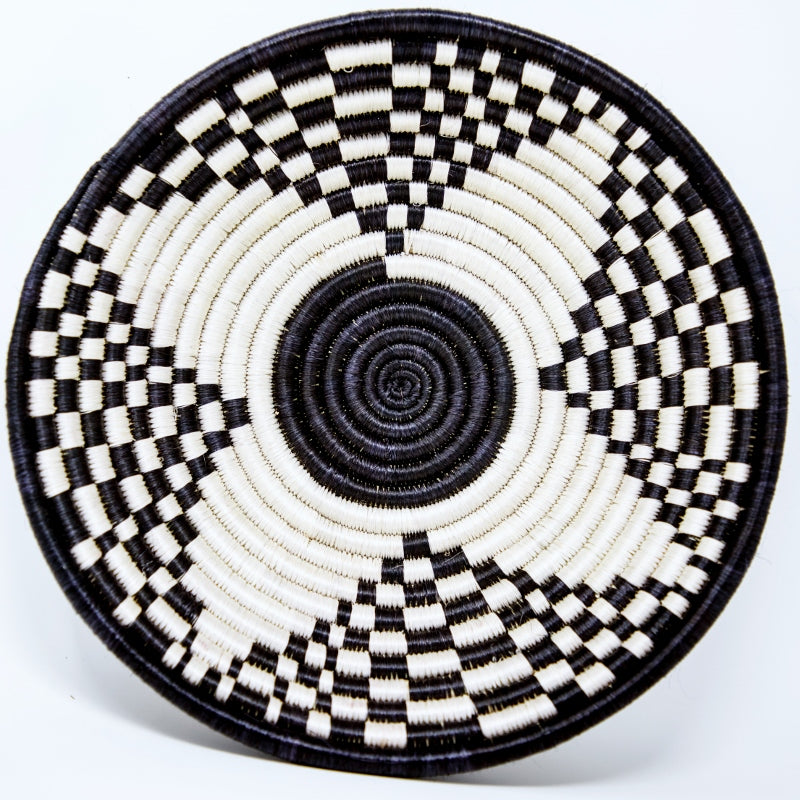 Black n White Star decorative Basket