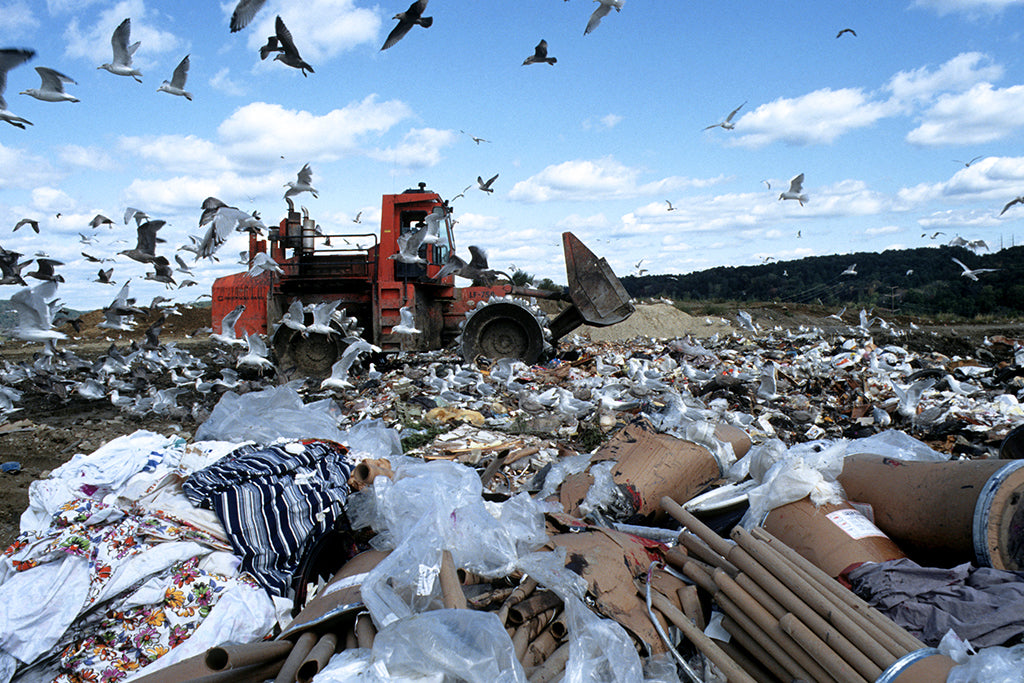 plastic pollution in landfills