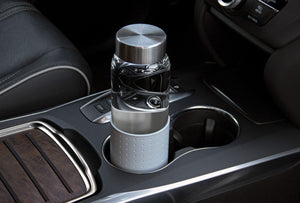 glass bottle that fits cupholder