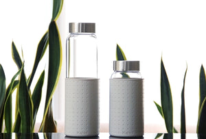 Kablo glass water bottle