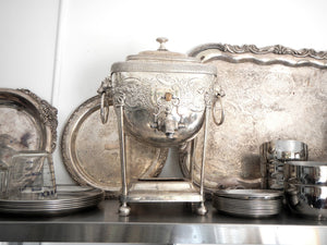 The Farm's Silver Tea Set
