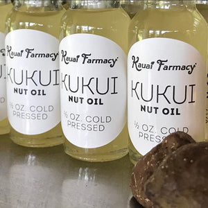 Kukui Nut Oil - The Finest Oil on the Planet!