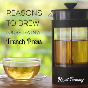 Brew Loose Tea in a French Press