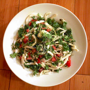 Fresh Coconut Noodle Salad