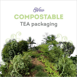 New Compostable Tea Packaging