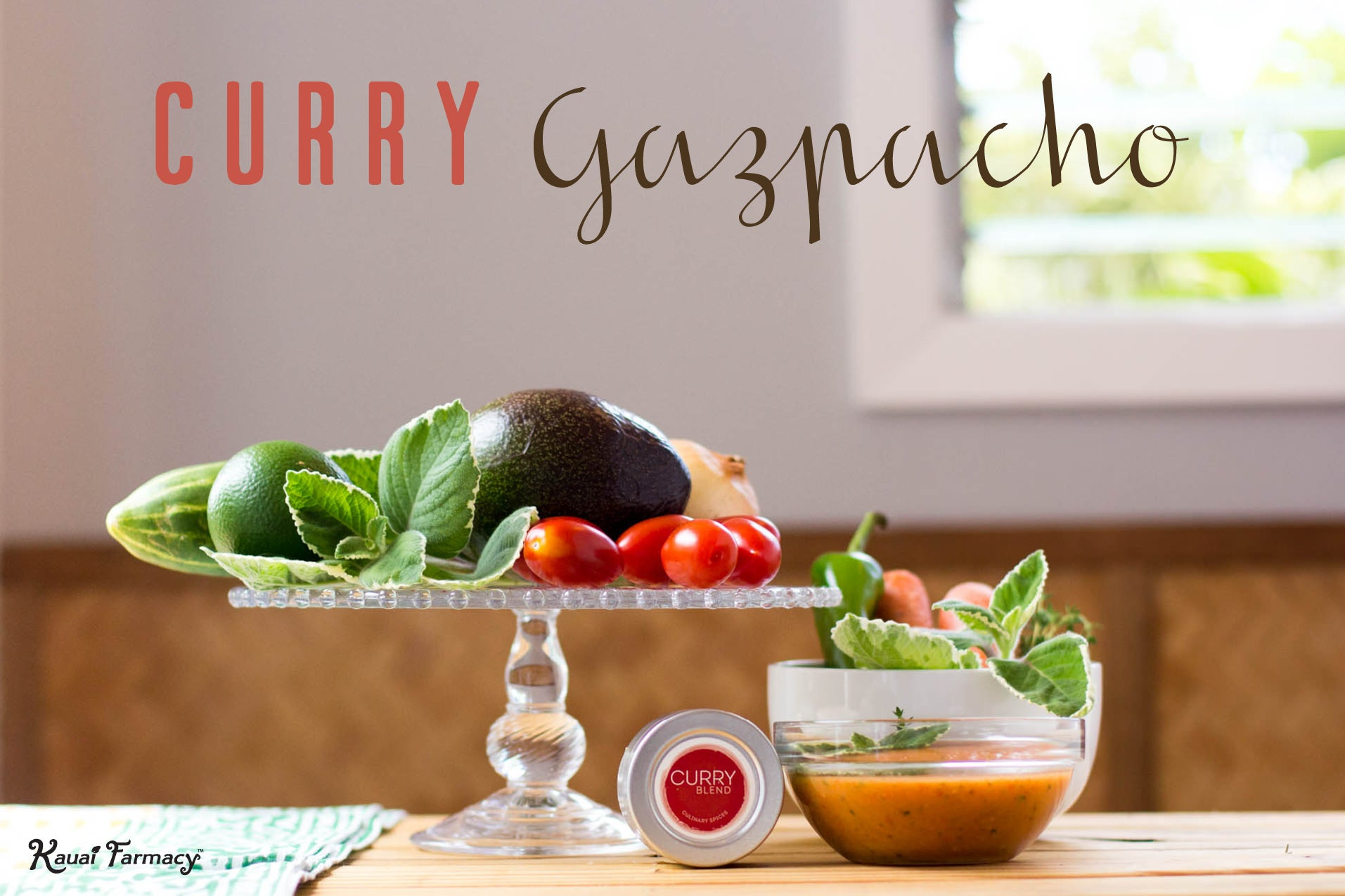 Curry Gazpacho
