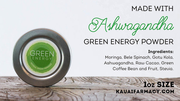 Green Energy Made with Ashwagandha