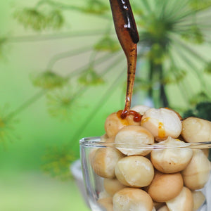 Allspice honey macadamia nuts spiced medicinal honey