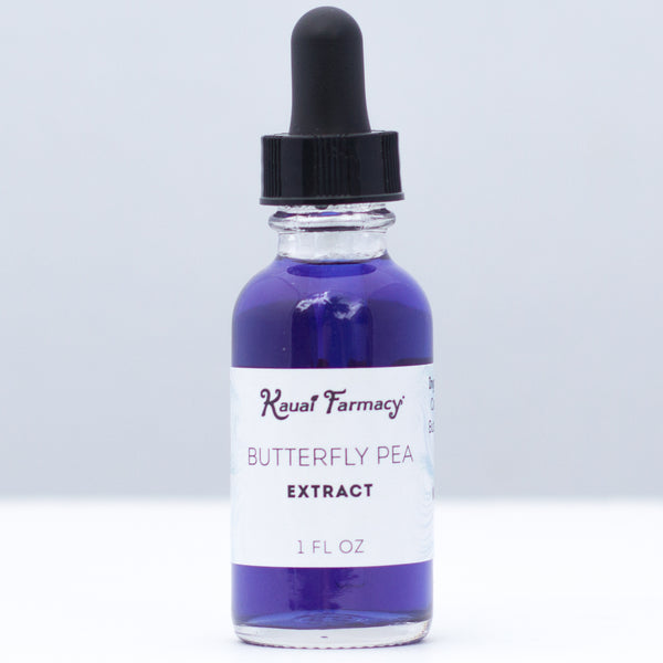 Kauai Farmacy Blue Butterfly Pea Alcohol Tincture Extract