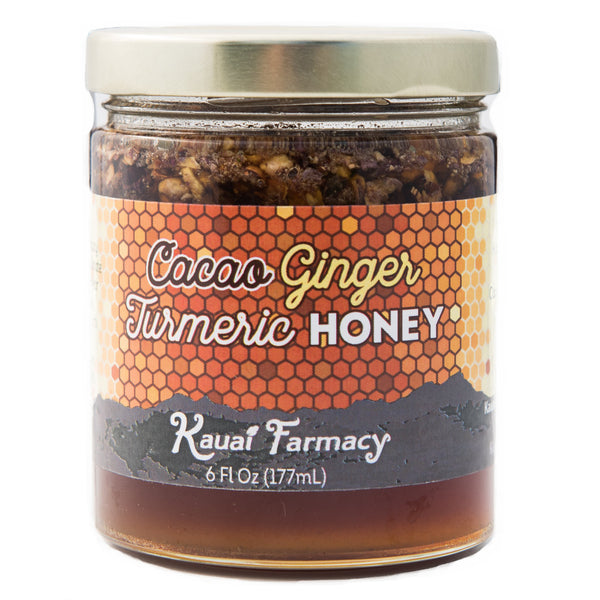 Cacao Ginger Turmeric Honey