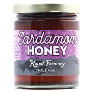 Kauai Hawaii Honey cardamom infused medicinal honey