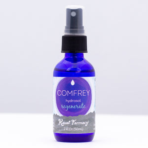 Kauai Farmacy comfrey root knit bone 2 fl oz hydrosol steamed distilled essential oil