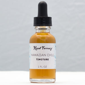Kauai Farmacy Hawaiian Chili Pepper Tincture 1oz