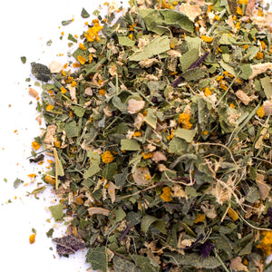 Kauai Farmacy love potion organic herbal tea blend detail ashwaghanda tulsi