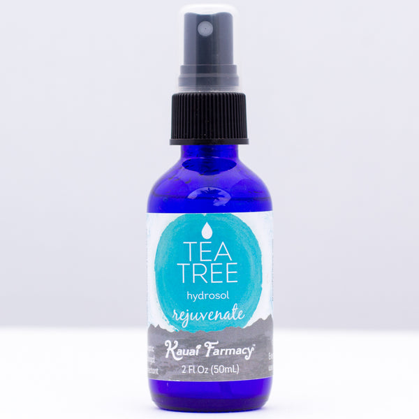 Kauai Farmacy tea tree hydrosol steamed distilled essential oil 2 fl oz spray bottle