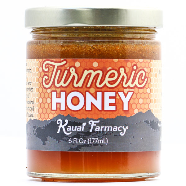 Kauai Hawaii Honey turmeric infused medicinal honey