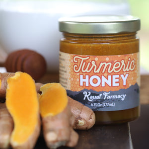 Turmeric honey spiced medicinal root