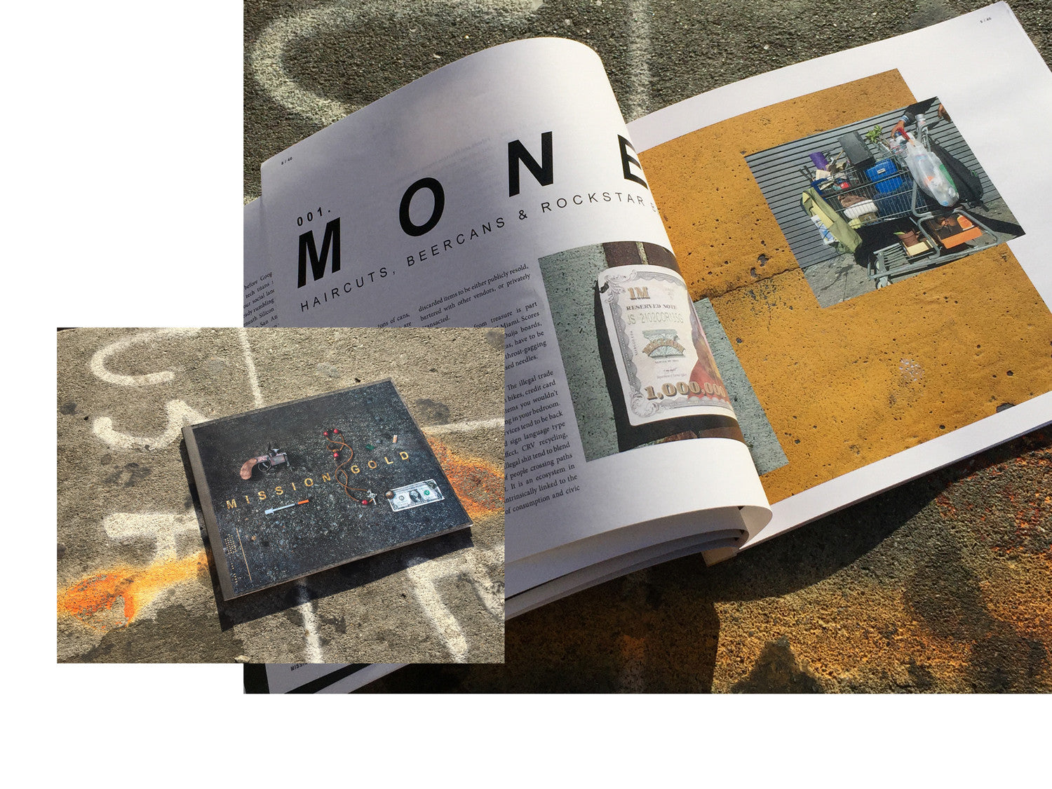 ISSUE 001 - MONEY: Haircuts, Beer Cans & Rockstar Bartering.