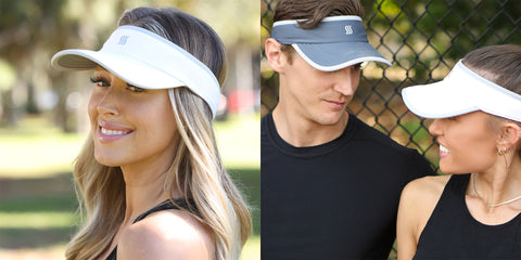 running visor for women and men. Lightweight, quick drying, antimicrobial