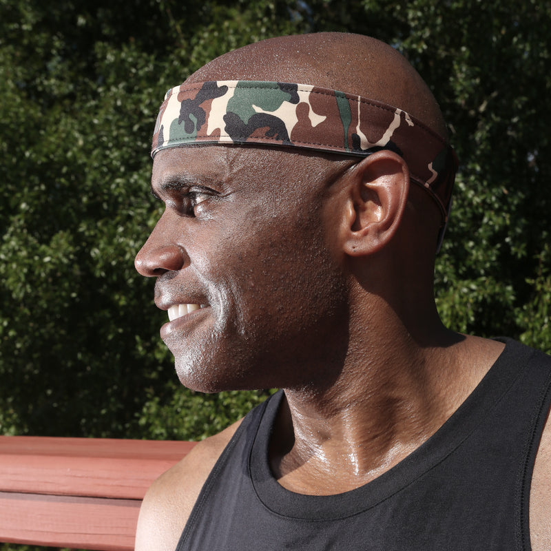 Triathlon Headband: Ideal for Wearing Under Helmet