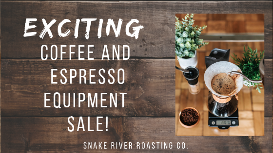 Exciting Coffee and Espresso Equipment Sale!