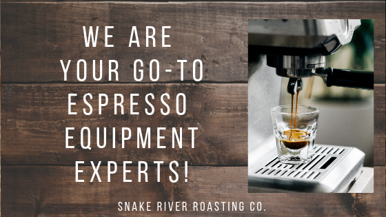 We Are Your Go-To Espresso Equipment Experts