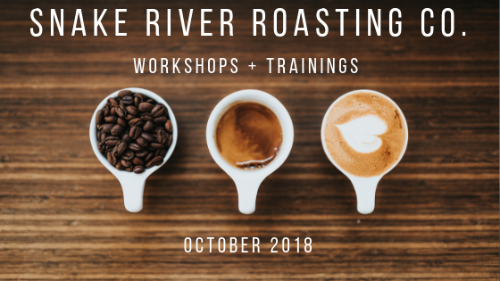 Coffee Training In Jackson Hole With Snake River Roasting Co.