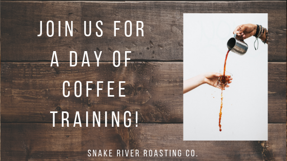 Join Us For A Day Of Coffee Training!