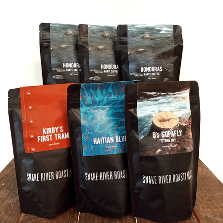 Exploring Roast Levels<br/>Coffee Box
