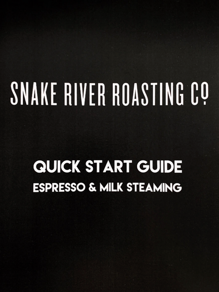 Espresso And Milk Steaming Guide