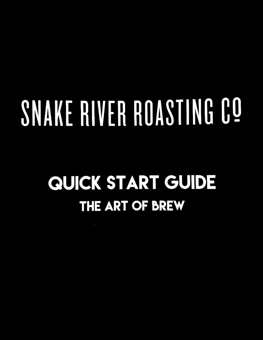 The Art Of Brew Guide
