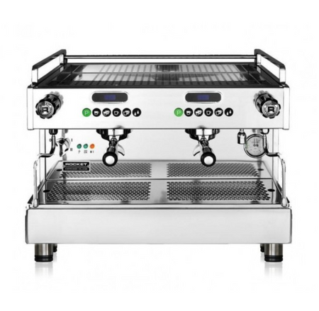Rocket Espresso Boxer Timer Commercial Espresso Machine - 2 Group - ADDITIONAL FREIGHT CHARGE AFTER CHECKOUT