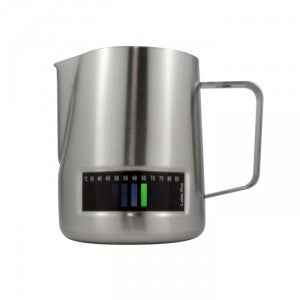 Latte Pro Professional Milk Frothing Jug with Integrated Thermometer 20oz