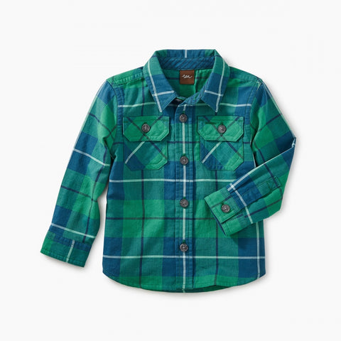 Double Weave Shirt Green