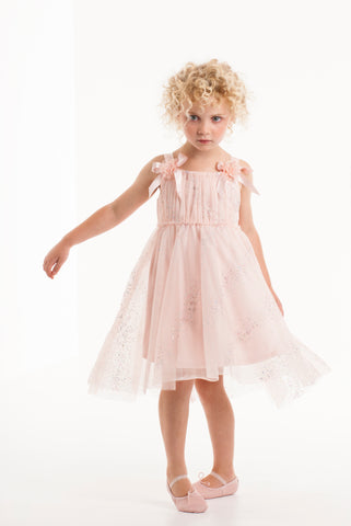 Pink Netting Dress by Biscotti (Girl)