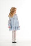 Beautiful Dreamer Lace Dress in Blue