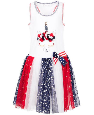 Patriotic Unicorn Dress