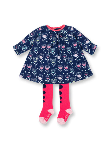Effervescence Dress & Tights Infant