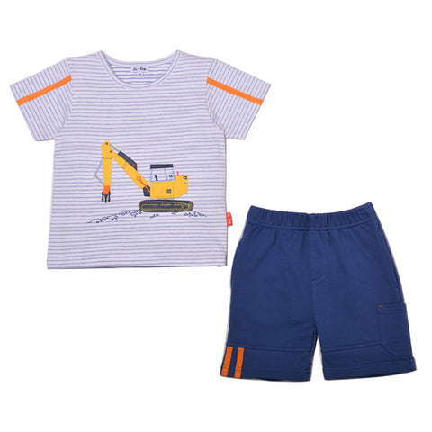 Let's Build Tee & Short Set