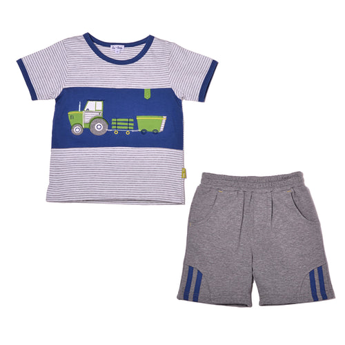 Le Top Tough Tractor Tee & Short Outfit