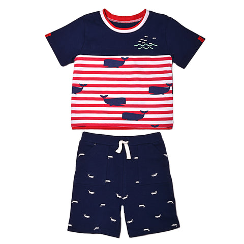 Whaley Cute Tee & Short Set