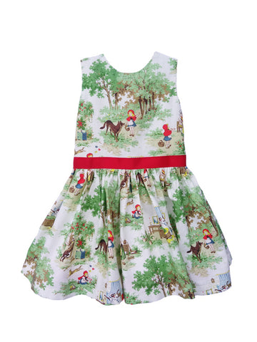 Little Red Mollie Dress for Girls