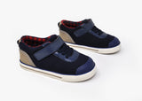 Florence Boy's Single Strap Shoe in Navy