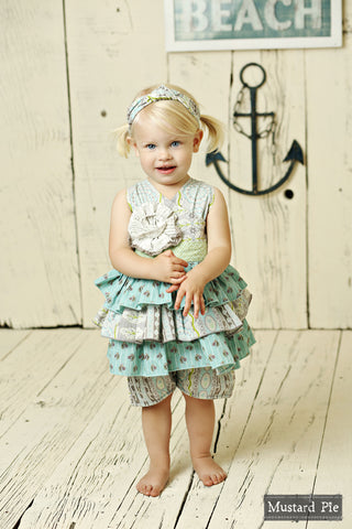 Jubilee Romper Seaside Summer