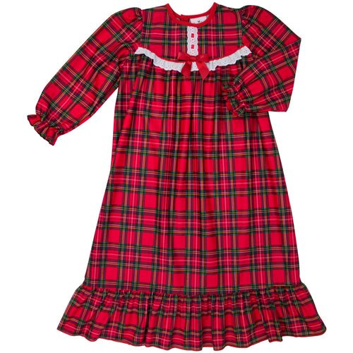 Red Plaid Nightgown