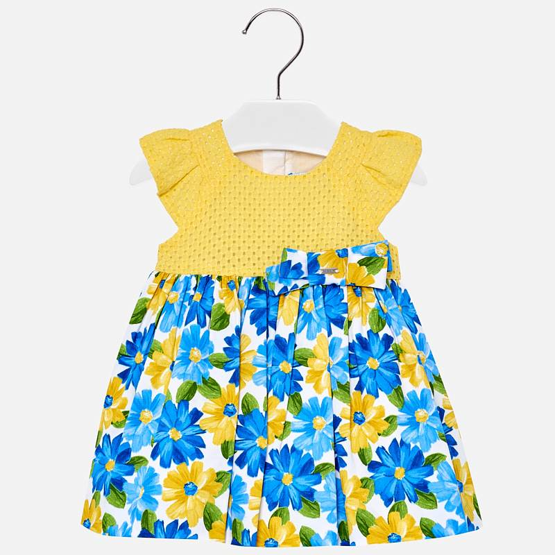 Mayoral Vibrant Baby Floral Print Dress