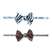 Mini Print Skinny Headbands 2 Pack by Baby Bling