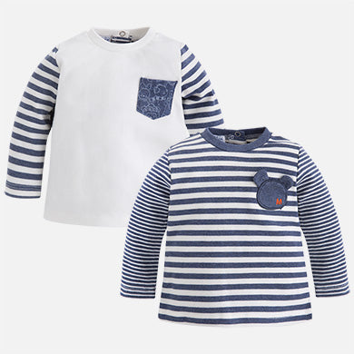 Baby Striped Tee Shirt Set
