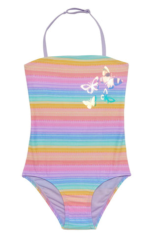 Pastel Stripe Swimsuit