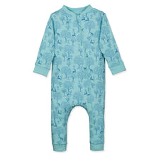 Deer & Apple Trees Zipper Romper by Feather Baby